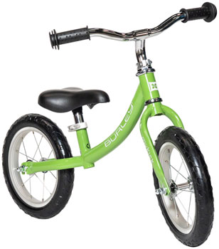 Burley MyKick Balance Bike: Green