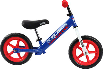KaZAM USA BMX Balance Bike: Blue/Red