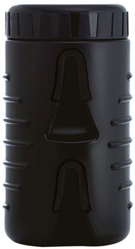 Fabric Cageless Tool Keg Water Bottle: Black