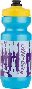 All-City Purist Water Bottle: 22oz, Wildstyle Graphics