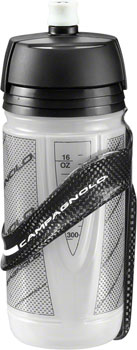 Campagnolo Super Record Carbon Water Bottle Cage with Bottle