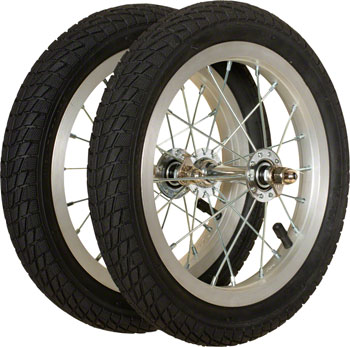 Strider Balance Bike Replacement Wheel: Alloy/Pneumatic, Pair