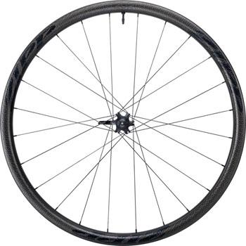 Zipp 202 Firecrest Carbon Clincher Tubeless Disc Brake Front Wheel, 700c, 24 Spokes, 77D, A1, Black Decal