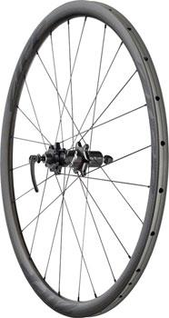 Zipp 202 Tubular Disc Brake Rear Wheel, 700c, 24 Spokes, 10/11 Speed SRAM Cassette Body, 177D, V2, Black Decal