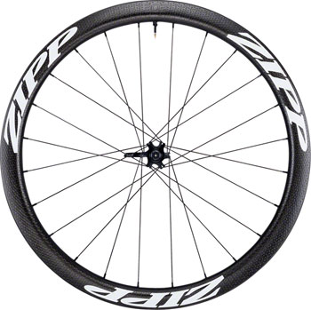 Zipp 303 Carbon Clincher Tubeless Disc Brake Front Wheel, 700c, 24 Spokes, 77D, White Decal