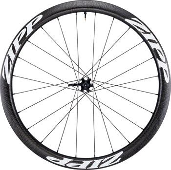 Zipp 303 Carbon Clincher Tubeless Disc Brake Front Wheel, 700c, 24 Spokes, 77D, White Decal