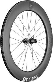 DT Swiss ARC 1400 DiCut 80 Rear Wheel -  700, 12 x 142mm, 6-Bolt/Center-Lock, HG 11, Black