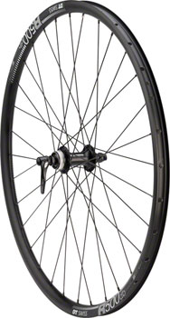 Quality Wheels Front Wheel Road Disc 650b QR 100mm Shimano RS505 Centerlock/ DT R500 db All Black