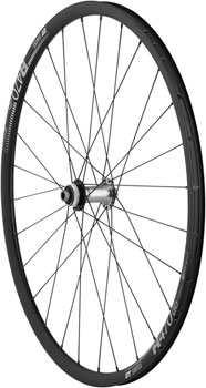Quality Wheels Front Wheel Road Disc 700c Shimano Ultegra Centerlock Disc 12mm x 100mm / DT R470db / DT Comp / All Black