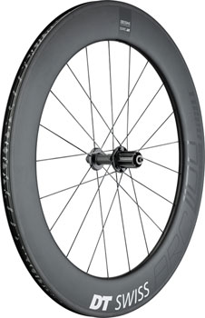 DT Swiss ARC 1100 DiCut 80 Rear Wheel - 700, QR x 130mm, Rim Brake, HG 11, Black