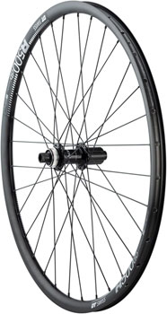 Quality Wheels Rear Wheel Road Disc 650b 12mm 142mm 11-Speed Shimano 105 Centerlock / DT R500 db All Black