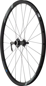 FSA NS Road and Gravel Disc Convertible Wheelset 700c Centerlock 12mm 15mm QR Front, 135mm 142mm Rear Tubeless Ready Shimano 11s All Black