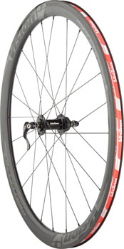 Vision Metron 40 Wheelset - 700c, QR x 100/130mm, HG 11, Center-Lock, Black, Clincher