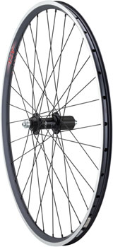 Quality Wheels 105/A23 Rear Wheel - 650c, QR x 130mm, Rim Brake, HG 11, Black, Clincher