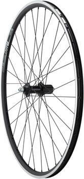 Quality Wheels 105/R460 Rear Wheel - 700, QR x 130mm, Rim Brake, HG 11, Black, Clincher
