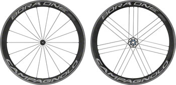 Campagnolo Bora One 50, 700c Road Wheelset, Clincher, Dark Label