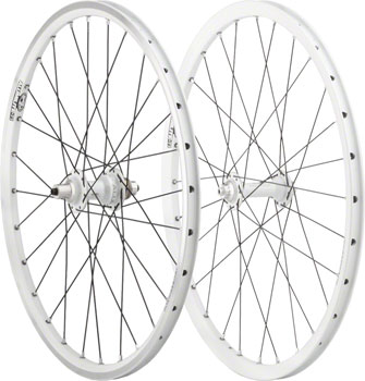 Answer BMX Limited Edition White Ti Mini 20 x 1-1/8 inch Wheelset