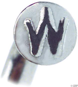 Wheelsmith SS14 Spokes 2.0 x 270mm, Silver, Bag of 50
