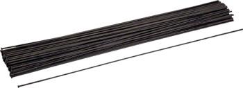 Wheelsmith DB14 Direct Pull Spoke Blanks 2.0/1.7 x 310mm (Shortest Cut 280mm) Black, Bag of 50