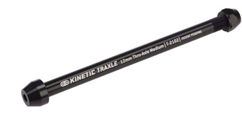 Kinetic Thru Axle Medium, 12 x 1.5mm pitch, 185mm length