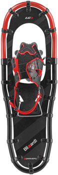 Garneau Blizzard II Men's Snowshoe: Black/Red 1036