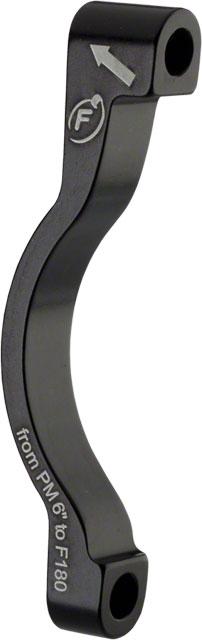 "Formula Disc Brake Adaptor Front PM 180 6/"" Black"