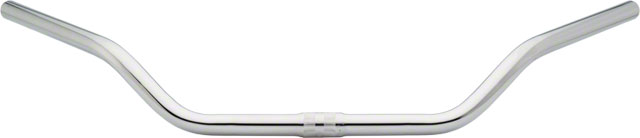 """1/"""" Clamp Chrome Wald 898 Gull Wing Steel Handlebar: 28/"""" Wide 3/"""" Rise"""