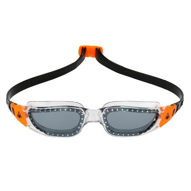 7e527a7c6 Bikeman Aqua Sphere Kameleon Goggles  Clear Orange with Smoke Lens