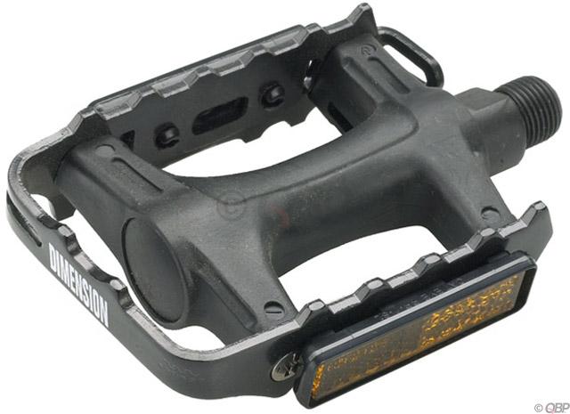 """Wellgo LU-895 9//16/"""" Nylon Mountain Pedals"""