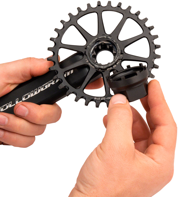 "FSA Park Tool LRT-3 Chainring lockring Tool Specialized Cannondale 3//8/"" Driv"