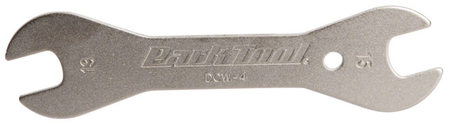 Park Tool DCW-4 Double-Ended Cone Wrench 13 and 15mm