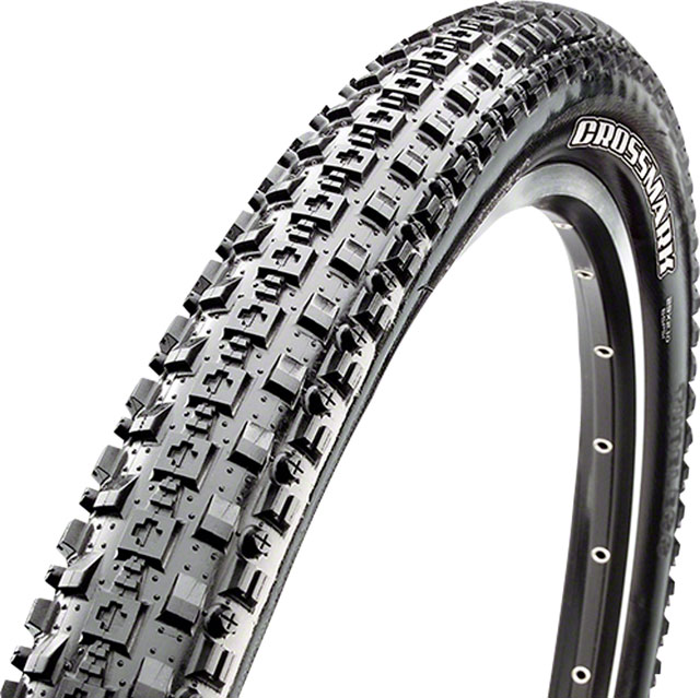 Maxxis Crossmark Tire 29 x 2.10 Single Compound Black 60tpi Folding