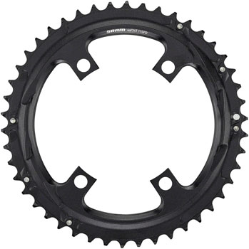 SRAM Red//Force//Rival//Apex 38T 10 Speed 130mm Black Chainring use with 46T