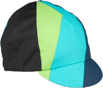 c665ee0187e All-City Interstellar Cycling Cap  Black Blue Green Turquoise