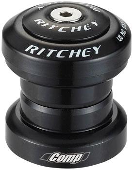 "Ritchey WCS Logic 1-1//8/"" Threadless Headset Black EC34//28.6 EC34//30"