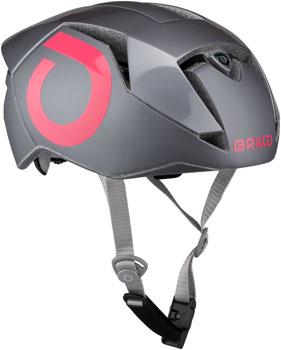 Briko Gass Fluid Bicycle Helmet Black//Orange Fluo LG//XL