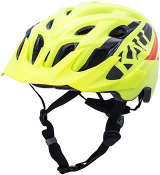 Solid Fluoro Yellow SM//MD Kali Chakra Mono Helmet