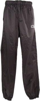 O2 Rainwear Calhoun Rain Pant: Black SM