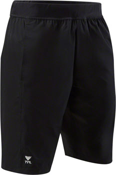 TYR Full Move Land to Water Men's Casual Swim Short, No Liner: Black MD
