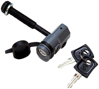 Saris Threaded Locking Hitch Tite: Fits 1 1/4 and 2 Receivers