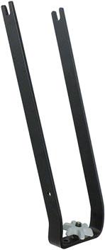 Saris Traps Wheel Holder: Non-Folding Black