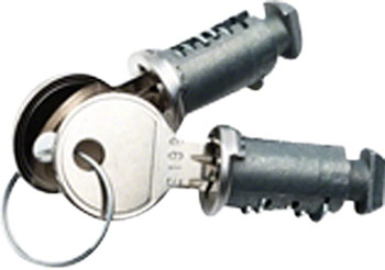 RockyMounts 2-Pack Lock Cores with 2 Keys