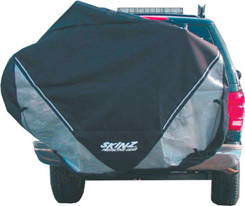 Skinz Hitch Rack Rear Transport Cover:  Large