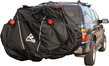 Skinz Hitch Rack Rear Transport Cover with Light Kit: Standard