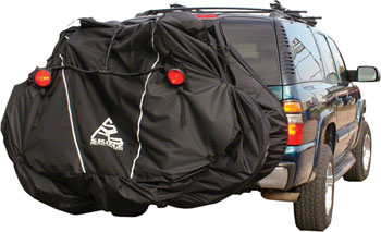 Skinz Hitch Rack Rear Transport Cover with Light Kit: Large