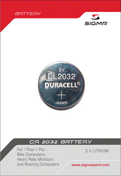 Sigma CR2032 Battery: Each