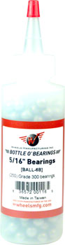 Wheels Manufacturing Grade 300 5/16 Loose Ball Bearing: Bottle of 250