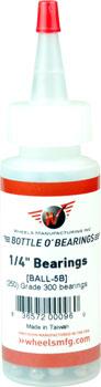 Wheels Manufacturing Grade 300 1/4 Loose Ball Bearing: Bottle of 250