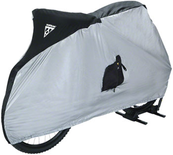 Topeak Bike Cover for 26  MTB Bikes White/Black