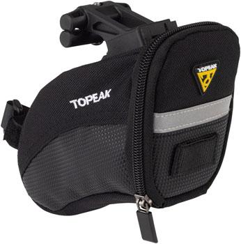 Topeak Aero Wedge Seat Bag: Small Black